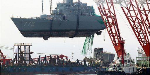 South Korea Accuses North Of Sinking Navy Ship