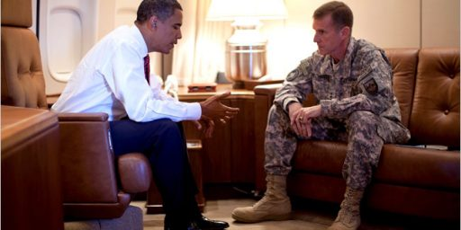 General McChrystal Crosses The Line