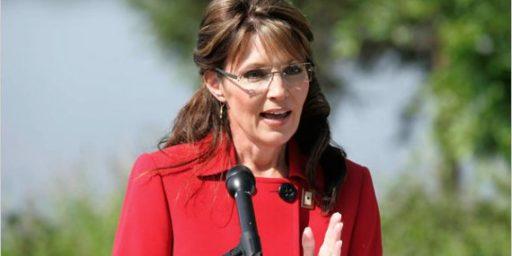 Sarah Palin Has A Good Primary Night