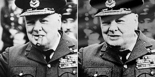 Who Stole Churchill's Cigar ?