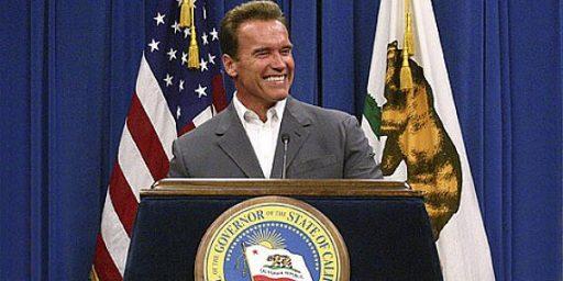 GOP Disappointed In Schwarzenegger