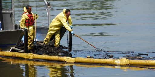 Bureaucracy Standing In The Way Of Oil Spill Clean Up Efforts