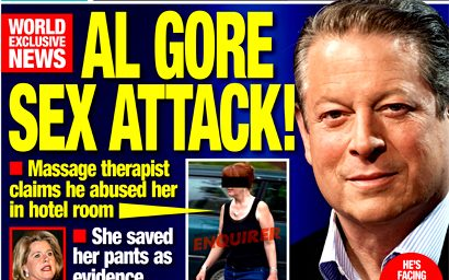 Al Gore Sex Scandal:  Evidence Thin