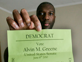 Alvin Green, Senate Nominee, Accused Sex Felon