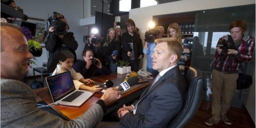 Jon Gnarr, Reykjavik Mayor, Joke Candidate