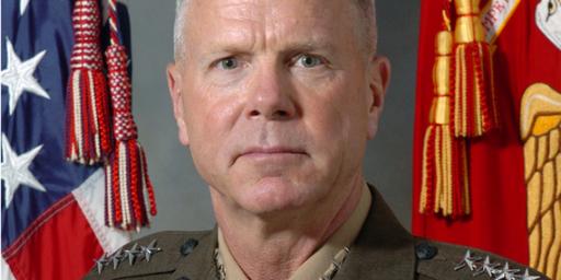 James Amos Next Marine Commandant