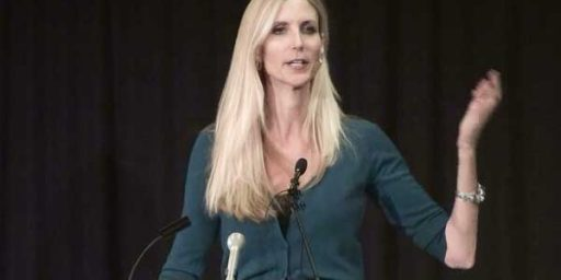 Ann Coulter Anti-War ?