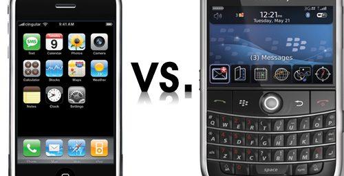 SmartPhone Bleg:  Blackberry vs. iPhone