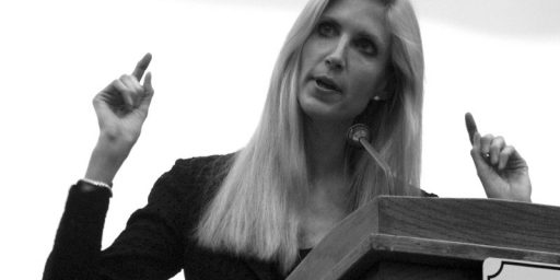 Ann Coulter Booted From World Net Daily Conference For Speaking To Gay Group