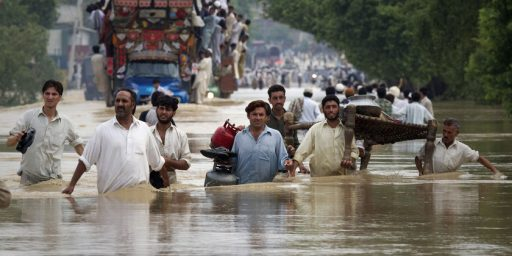 Pakistan Flood Dwarfs Recent Crises, No One Cares