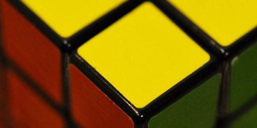 Rubik's Cube God's Number: 20