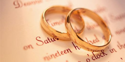 Getting The State Out of the Wedding Business