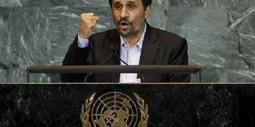 Mahmoud Ahmadinejad: 9/11 Truther