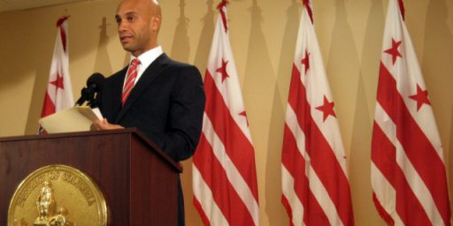 Adrian Fenty Good Mayor, Bad Candidate