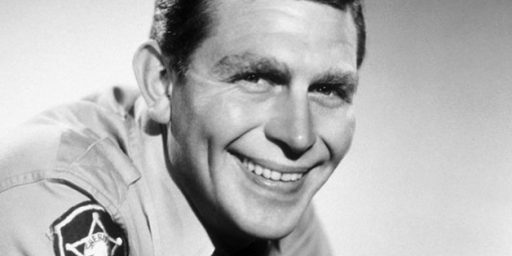 Andy Griffith Down 25 Points