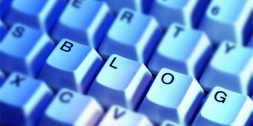 Political Blogger Avoids Politics