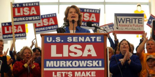 Murkowski's Sore Loser Write-In Bid