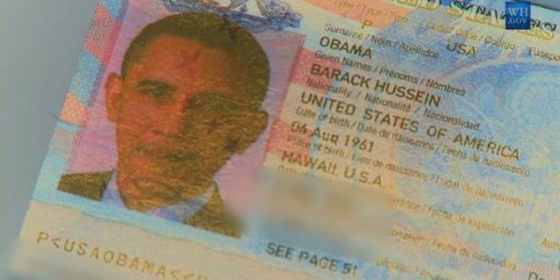 Obama's Citizenship and the Chain of Command