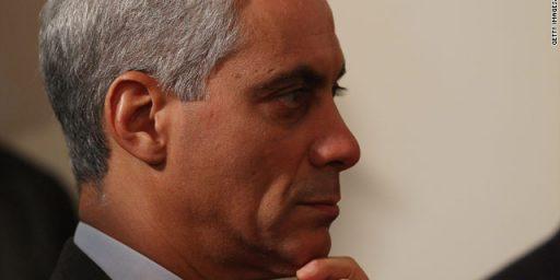 Rahm Emanuel Leaving White House, Running For Chicago Mayor