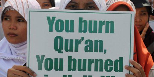 "General Petraeus: ""Burn A Koran"" Day A Threat To U.S. Troops"
