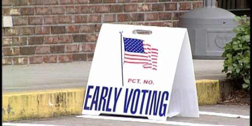 Study: Early Voting Actually Lowers Voter Turnout