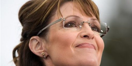 My Basic Theory of Sarah Palin