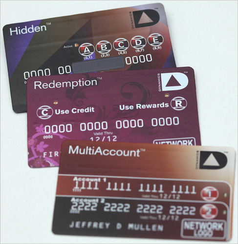 Multifunction credit cards