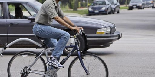 Obama's Bike Helmet Dilemma