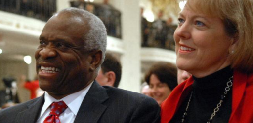 New York Times Shocked That Clarence Thomas's Wife Has A Job