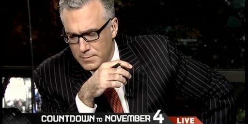 Keith Olbermann's Donations To Democrats: Much Ado About Nothing