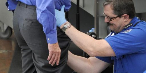 TSA Groping For Thee, But Not For Me
