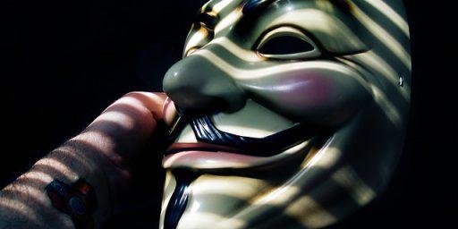 Anonymity and Internet Trolls