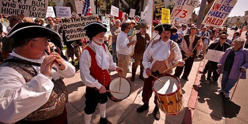 Tea Party = Racism?