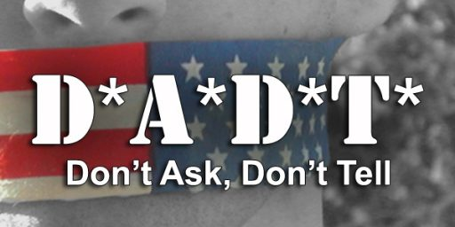 DADT and Gender Equality