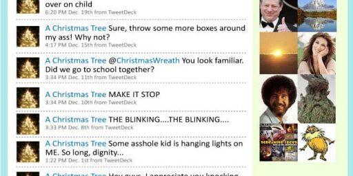 Christmas Tree Tweets