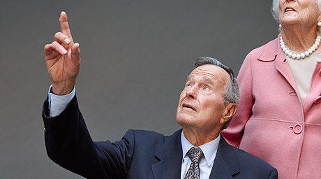 Bush 41: 65 Years of Sitting Down