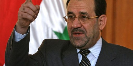 Maliki Responding To Iraq Crisis In Worst Possible Way