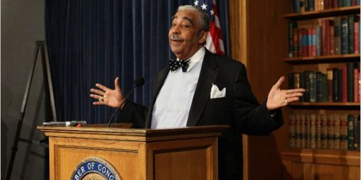 House Censures Charlie Rangel