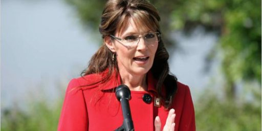 Sarah Palin Testing The Waters In Iowa?  Republicans Getting Nervous?