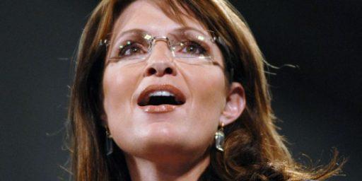 Sarah Palin Responds To The Response Over Her Response To The Arizona Shootings