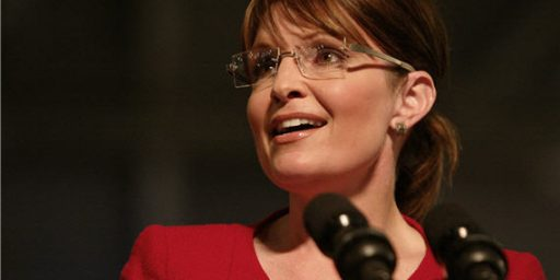 The End Of Sarah Palin?