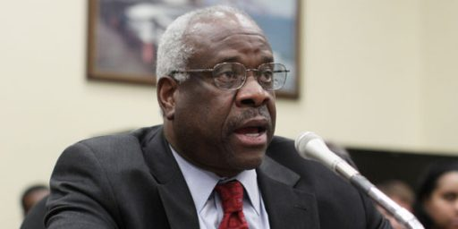 Clarence Thomas Failed to Report Wife's Income