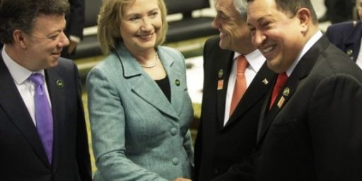 Hillary, Hugo, and that Diplomacy Thing