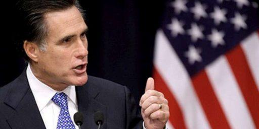 Mitt Romney Gearing Up: Disclosure