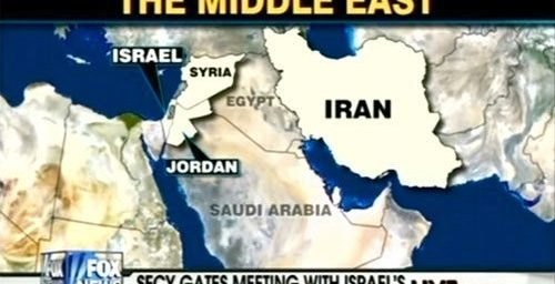 Fox News Can't Find Egypt On A Map