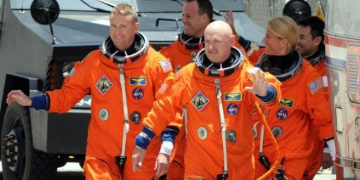 A Question About Mark Kelly's Decision To Return To Space