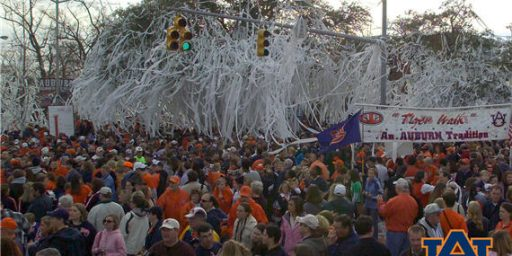 Auburn Trees Killed by Crazed Alabama Fan