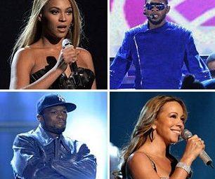 Mariah, Beyoncé, Usher and Gaddafi Money