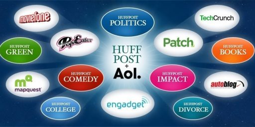 AOL Buys HuffPo for $315 Million