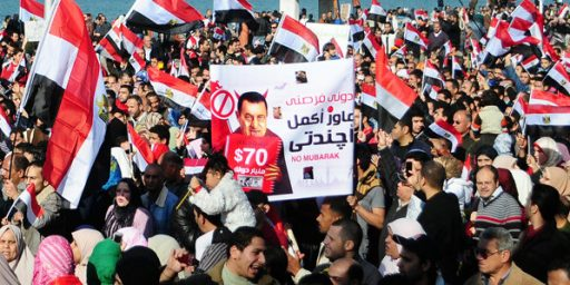 Mubarak Resigns, Military Now Runs Egypt